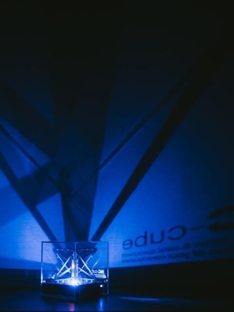エヌシーキューブ夜間照明1