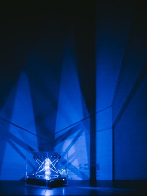 エヌシーキューブ夜間照明2