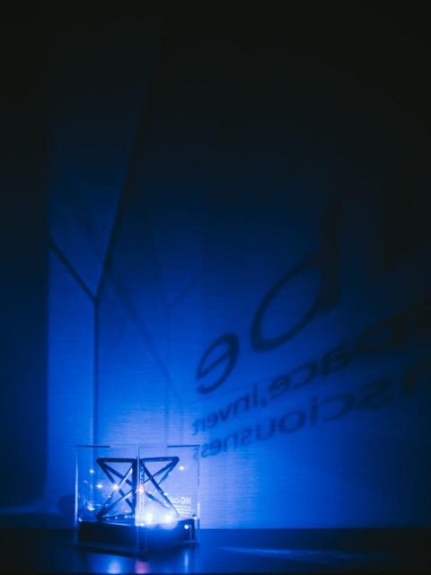 エヌシーキューブ夜間照明3
